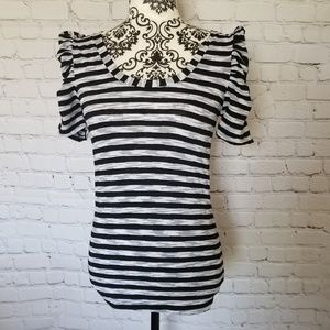 Tops - Striped Fitting Top MD